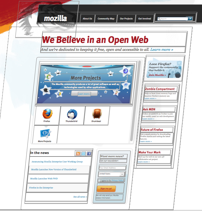 mozilla.org in 3D