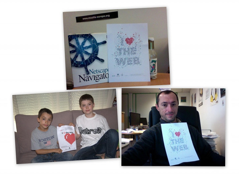 We love the Web